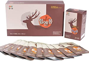 Him & Young 30 Packs Deer Antlers Red Ginseng Health Care Superfood