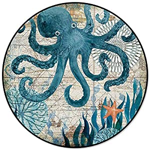 618LTRzsp8L._SS300_ Best Octopus Area Rugs