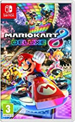 With Nintendo Switch, fans can enjoy the definitive version of Mario Kart 8 anywhere, anytime, even with up to 8 friends in local wireless multiplayer. It's the biggest Mario Kart ever!  All your favourite tracks and characters return...