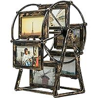 BESPORTBLE Porta-Retratos de Família Vintage Moldura Giratória Roda Gigante Moldura de Mesa Em Pé Moldura Memorial…