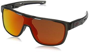 ecc266101c12f Oakley Men s Mainlink Polarized Iridium Rectangular Sunglasses Matte Black  57.1 mm