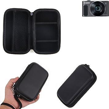 KS-Trade Caso Duro, Estuche para cámara compacta Canon PowerShot SX620 HS, Bolsa/Funda rígida con Espacio para jaulas de Memoria, batería de Repuesto, ...