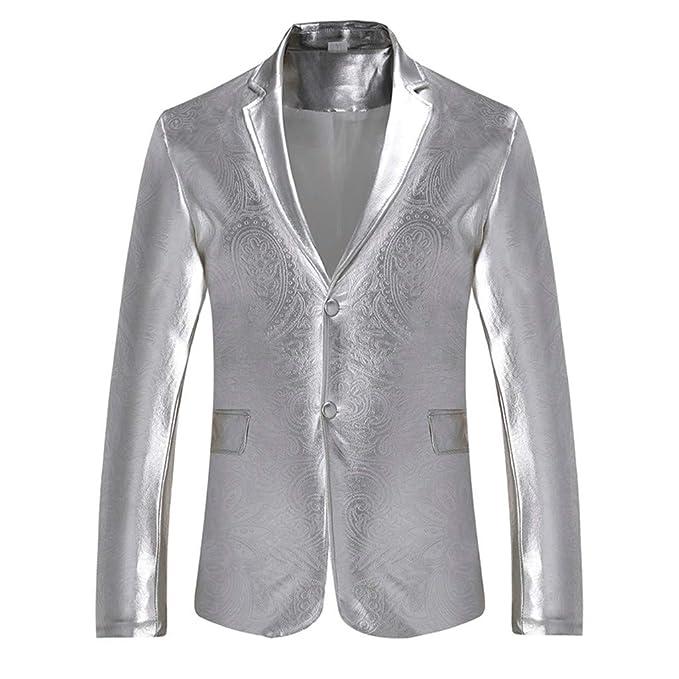 check-out e7af4 47758 A-Classico Giacca Elegante Vestito da Uomo Slim Fit Cappotto ...