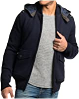 Barbour Chirdon Mens Sweater Jacket Navy Size L 42-44)