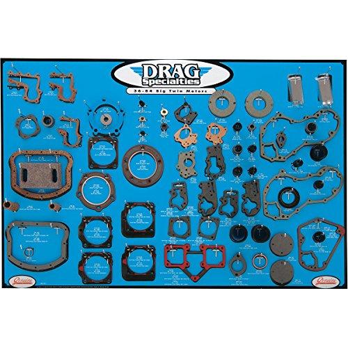 DRAG ガスケット ディスプレイ ボード 36年-84年 BigTwin 0934-0275   B01M993YXR