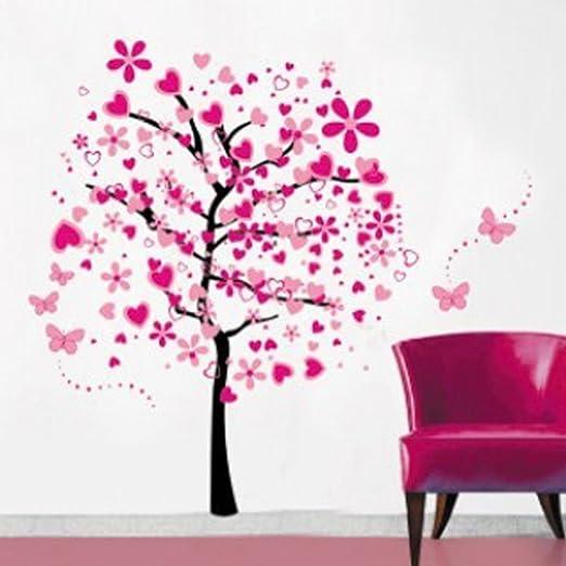 7 opinioni per Fai da te a forma di alberi con farfalla Adesivi da parete, IVIDZ Adesivi da