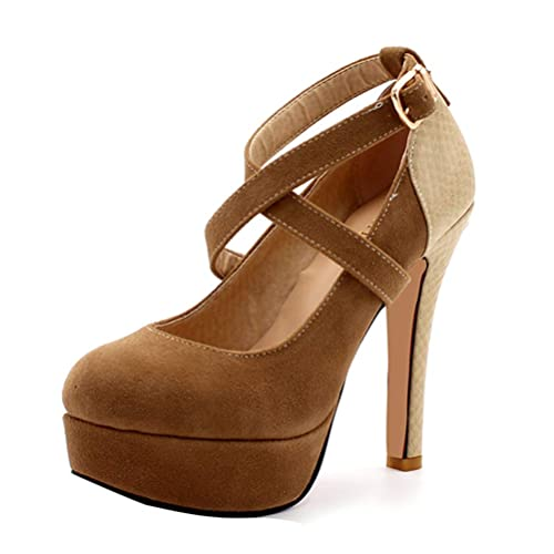 Talons Femme Hauts Escarpins Plateforme À Chaussures ARj3L54q