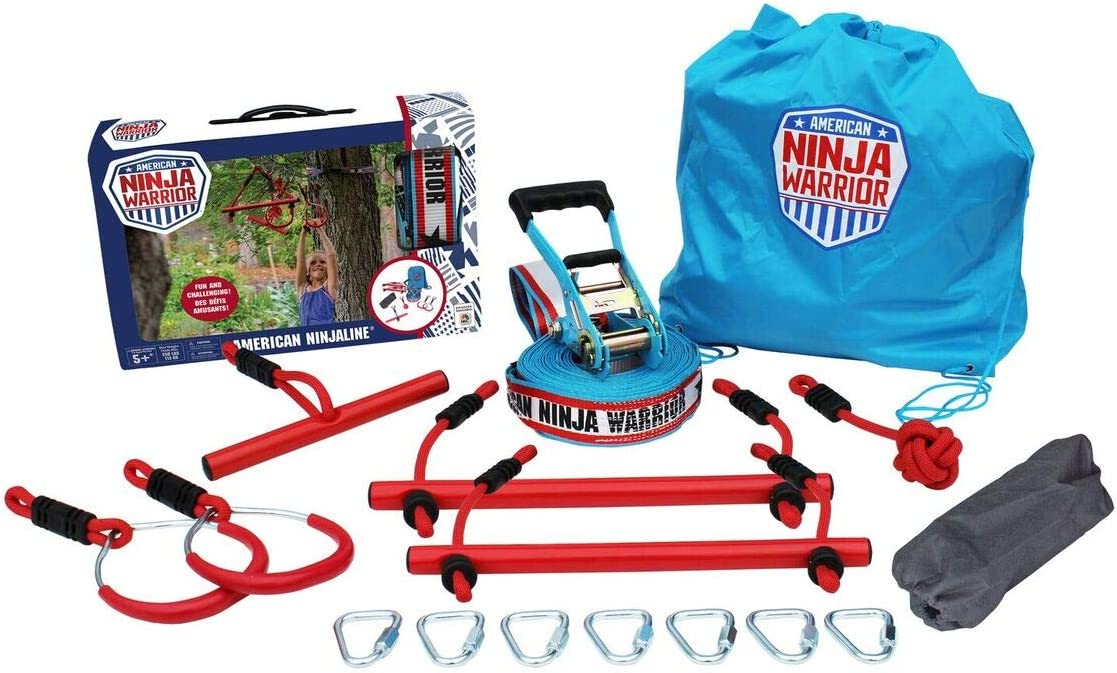 American Ninja Warrior Ninjaline 34 feet Outdoor Fun Toy by B4 Adventure (114)