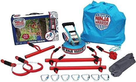 American Ninja Warrior Ninjaline 34 feet Outdoor Fun Toy by B4 Adventure (114)