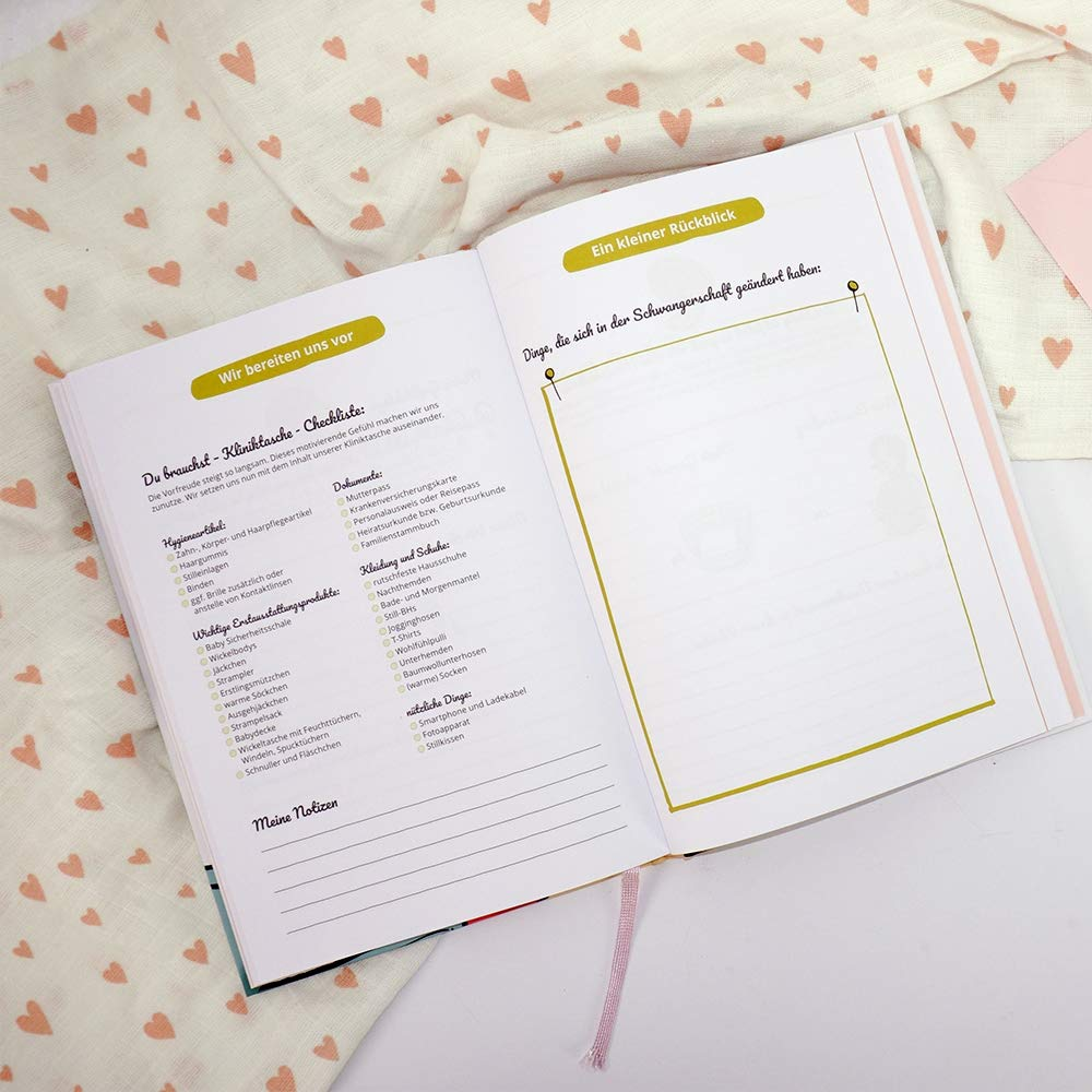 Mama Tagebuch Mein 1 Meine Schwangerschaft und die sch/önsten Bauchmomente Kalender