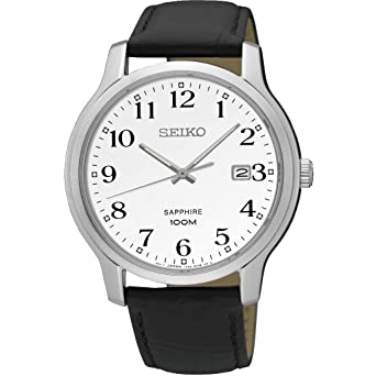 Seiko Classic SGEH69P1 Mens Wristwatch Excellent readability