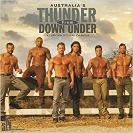 Thunder From Down Under 2015 Premium Wall Calendar Trends