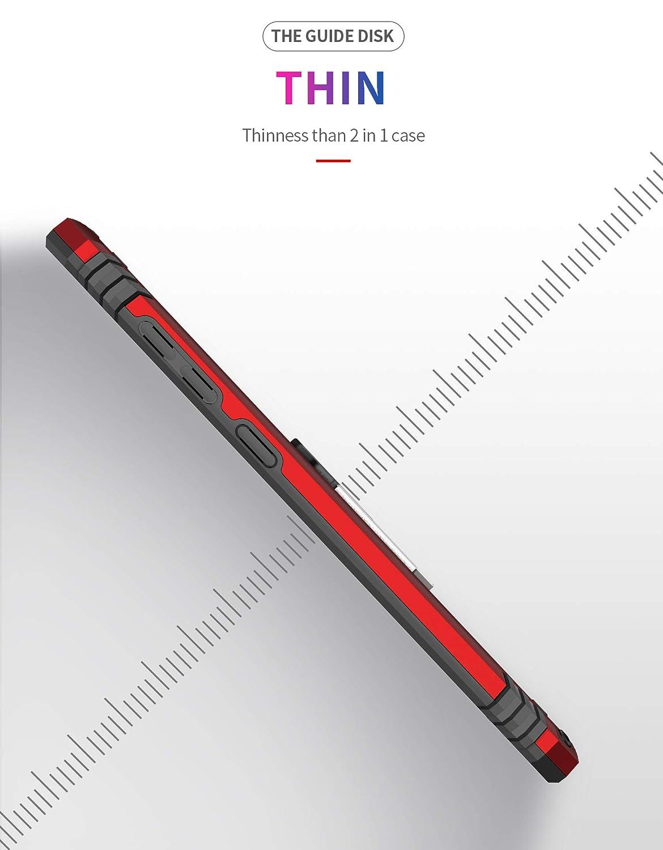 12eve Funda Compatible con Samsung Galaxy A70 Funda PC Duradera y Funda TPU a Prueba de Golpes para el Tel/éfono Galaxy A70