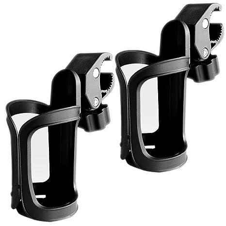 Soporte para vasos de bicicleta, 2 unidades, soporte para vasos de 360 grados de
