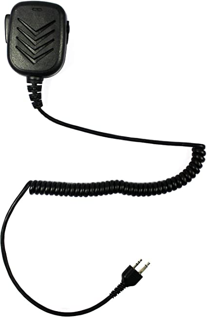 2Pcs Handheld Shoulder Speaker Mic Microphone for Midland Radios GXT//LXT Series