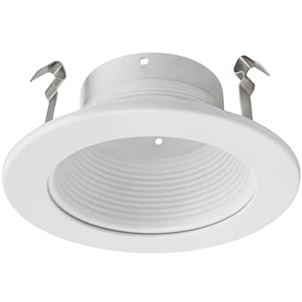 4 inch recessed can light trim with white metal step baffle for 4 4 inch recessed can light trim with white metal step baffle for 4 inch recessed aloadofball Gallery
