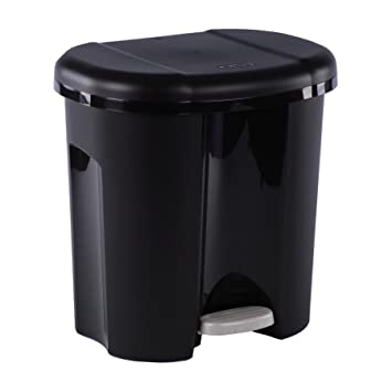 Rotho Duo Mulleimer Mit Zwei Abfallbehaltern 2 X 10 L Mulltrenner