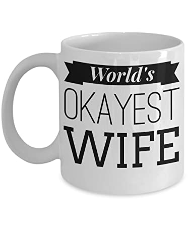 Amazoncom Best Wife Coffee Mug Anniversary Gifts For Wife Best