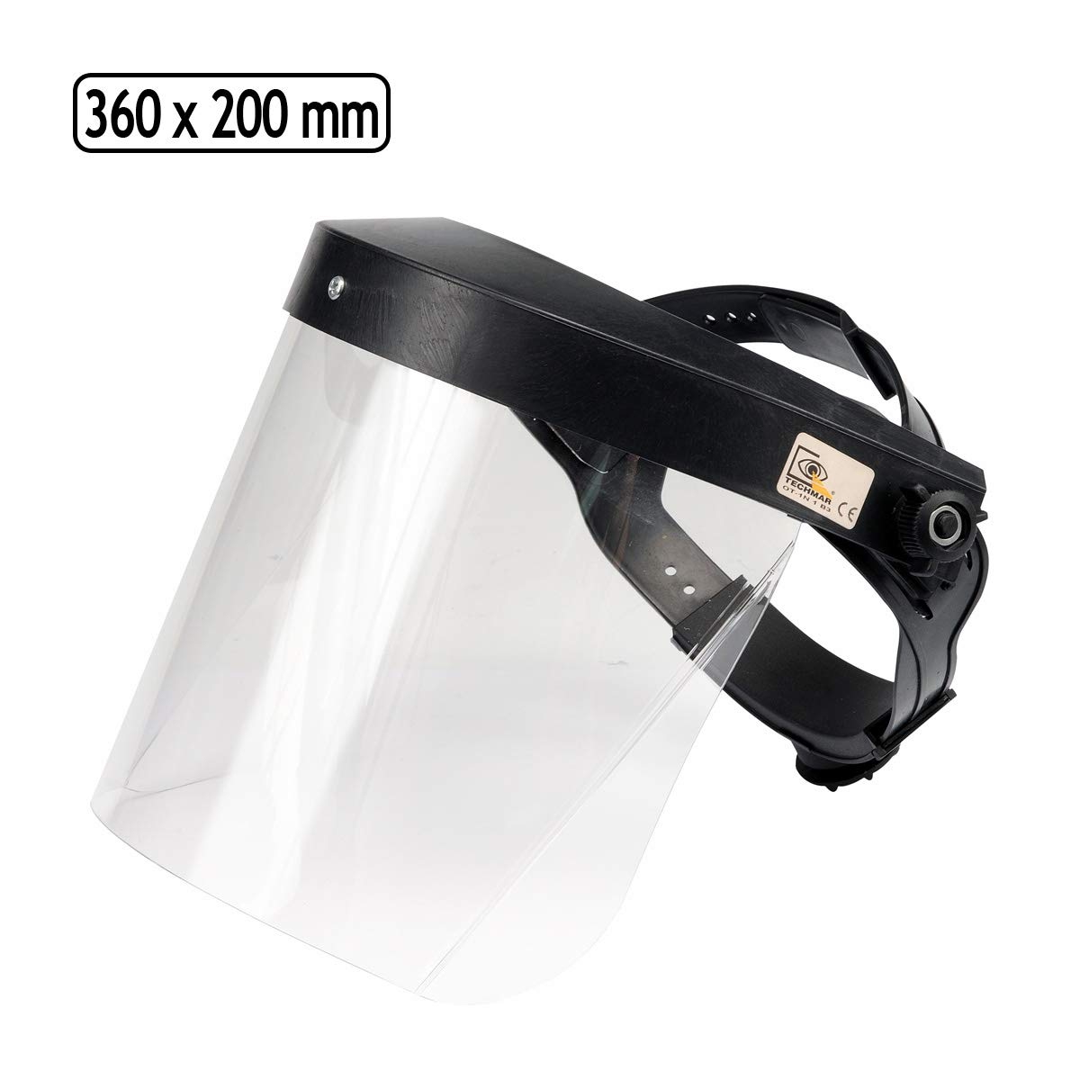 Schutzmaske Gesichtsschutz Visier Gesichtsschutzschirm Augenschutz Polycarbonat