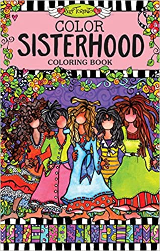 color sisterhood coloring book perfectly portable pages on the go coloring book