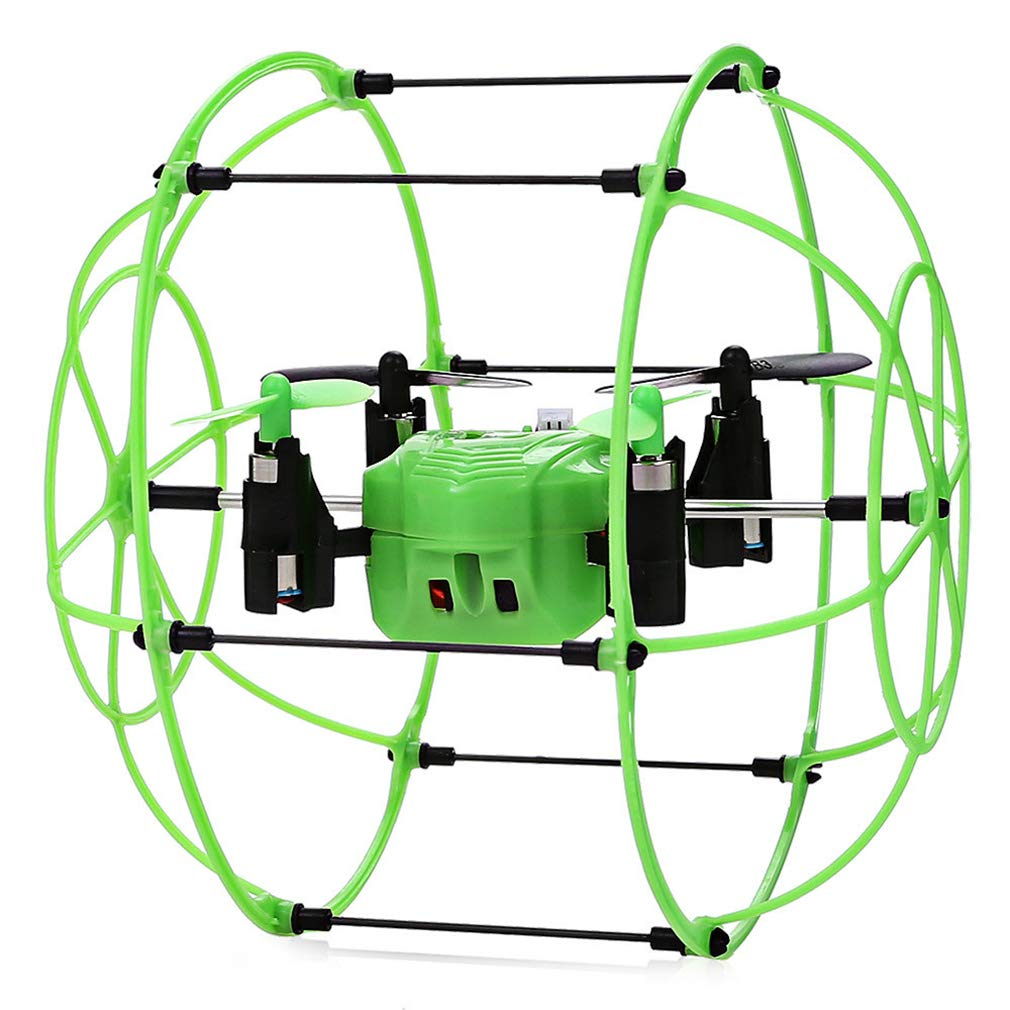 LSQR Mini Drone Ball Sky Walker 2.4Ghz 4CH Fly Ball RC Quadcopter 3D Flip Climbing Wall Roller RC Helicopter Toys