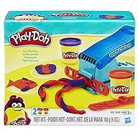 Play-Doh Basic Fun Factory Forma que hace la máquina con 2 colores de Play-Doh no tóxicos