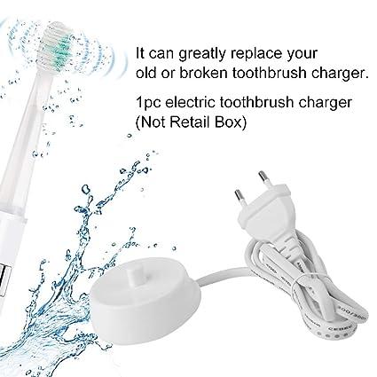 Ballylelly 220V cargador de cepillo de dientes eléctrico modelo 3757 adecuado para Braun Oral-b
