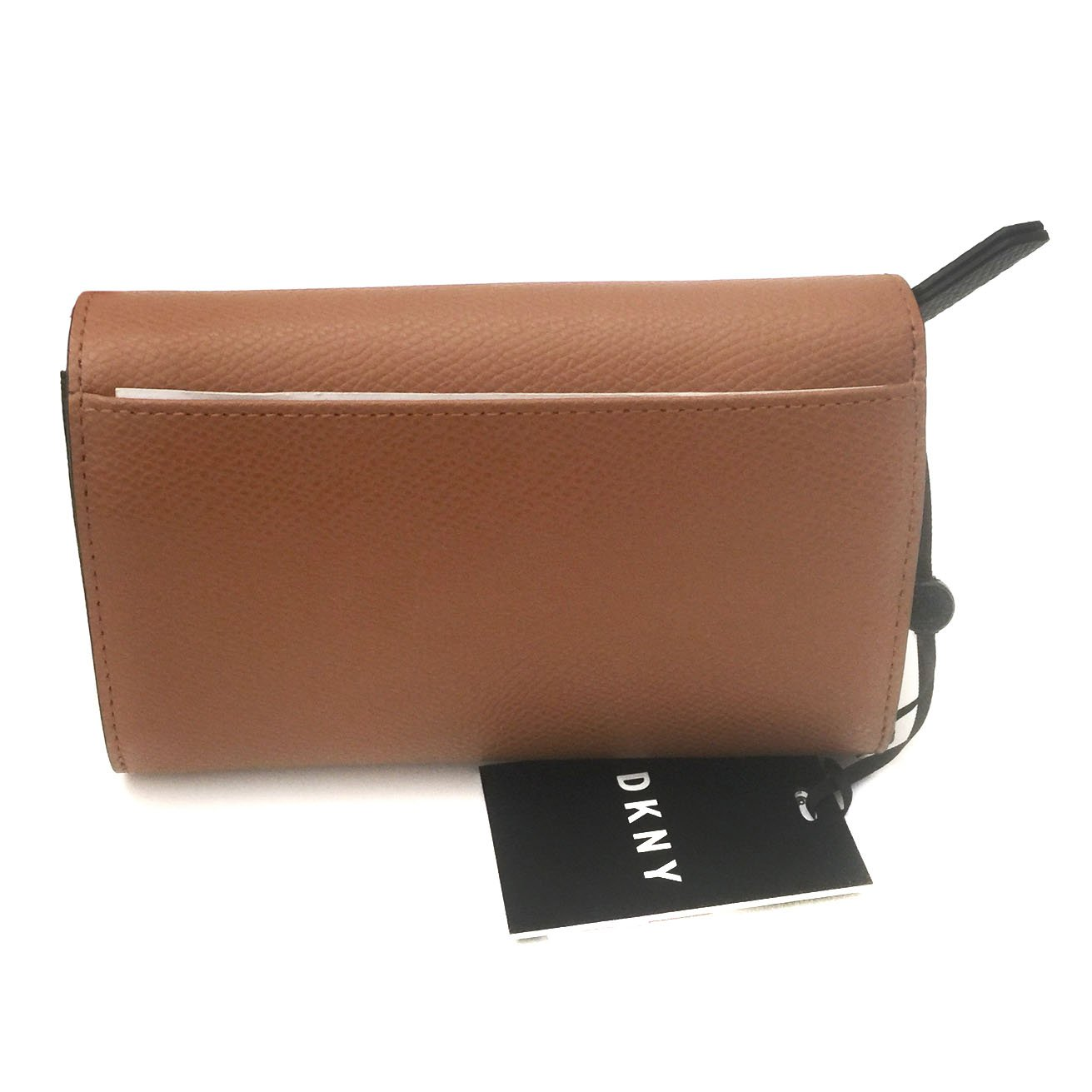 DKNY - Cartera para mujer Marrón caramelo Medium: Amazon.es ...