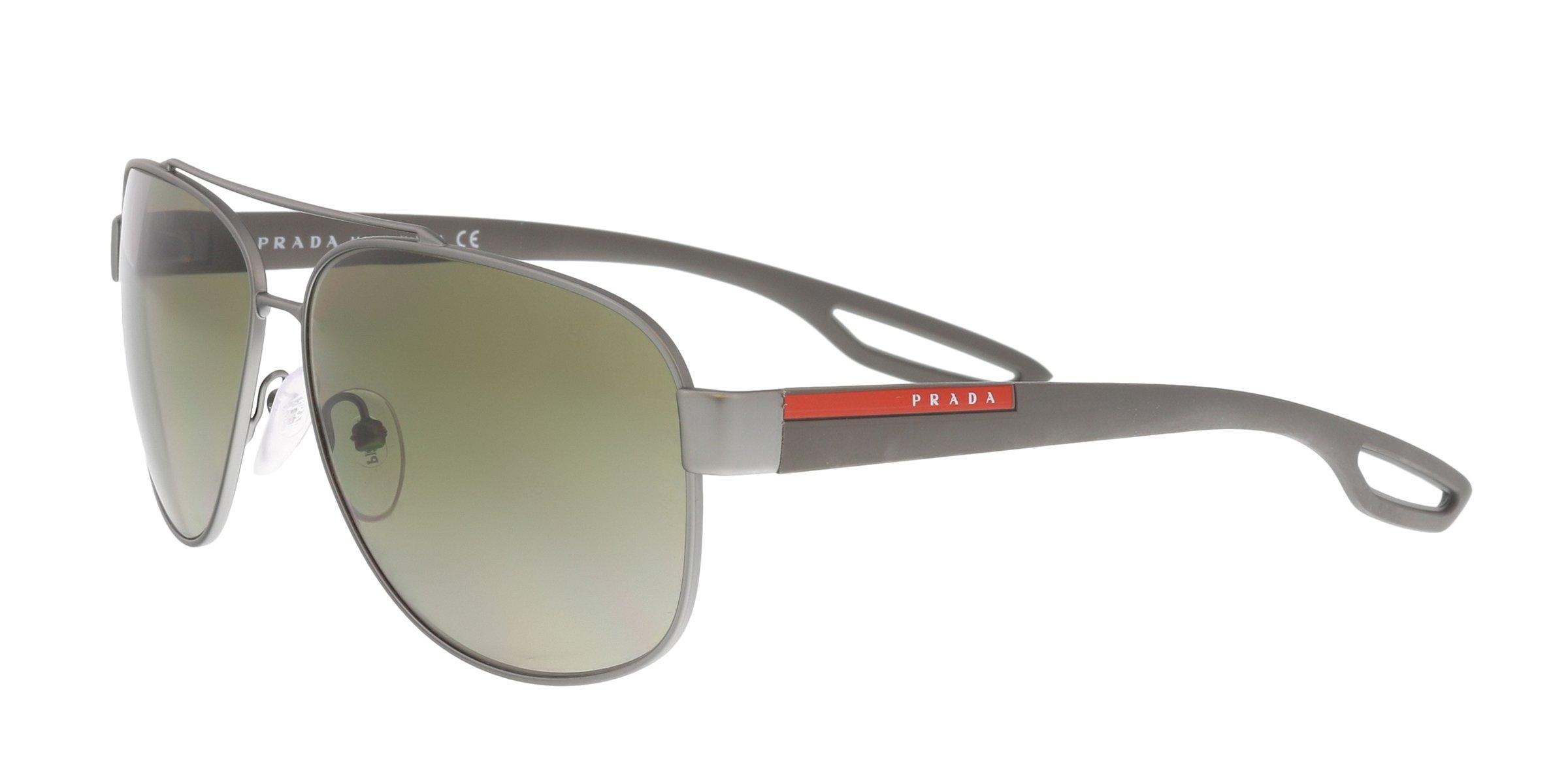 Sunglasses Prada Linea Rossa PS 58 QS DG11X1 GUNMETAL RUBBER by Prada