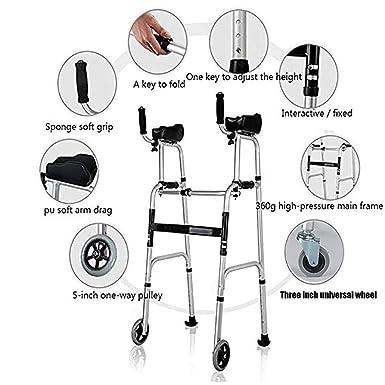 Amazon.com: Walkers Standard Walkers Elderly People Walker ...