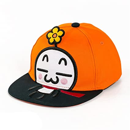 AdorabFitting-Cap Sombrero Cap Hat Baseballcap Gorra béisbol Bonnet Paja Dibujos Animados de niño bebé