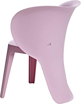 2-Pack Amazon Basics Pink Premium Plastic Kids Chairs