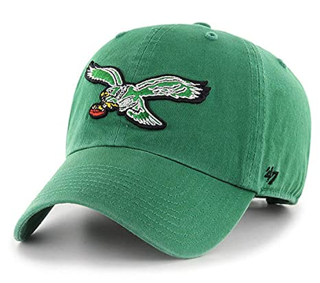 bf964ffeeef Image Unavailable. Image not available for. Color   47 Philadelphia Eagles  Classic Historic Logo NFL Green Clean ...