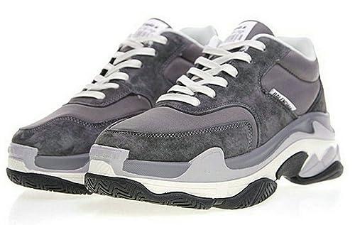 Balenciaga Triple S Grey 656686 Hombre Zapatos: Amazon.es: Zapatos y complementos