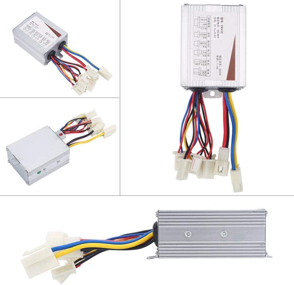 contr/ôleur de v/élo /électrique bross/é est utile et adapt/é aux v/élos /électriques et aux Scooters Yosoo Health Gear Contr/ôleur de Moteur bross/é contr/ôleur 24 V