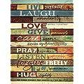 Live Joyfully By Marla Rae Art Print 18 X 24 Inches