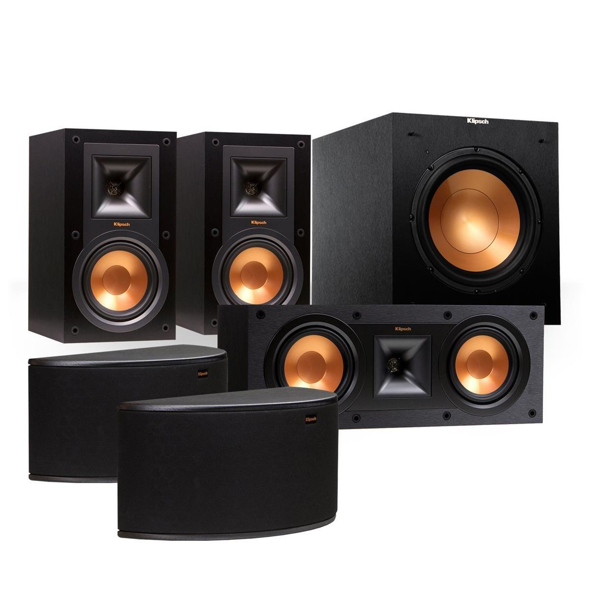 Klipsch Surround Sound >> Amazon Com Klipsch Reference 5 1 Channel R 15m Surround Sound