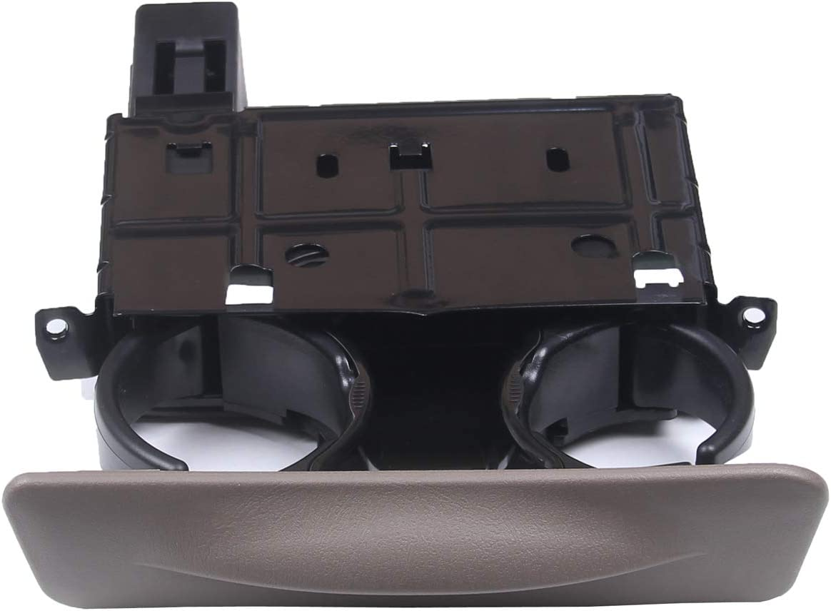 New Cup Holder for Ford Excursion F250 F350 F450 F550 Super Duty 1999-2004 Replace # YC3Z-2513560-CAB YC3Z2513560CAB Tan