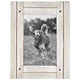 Americanflat 4x6 Aspen White Distressed Wood Frame Made to Display 4x Deal (Small Image)