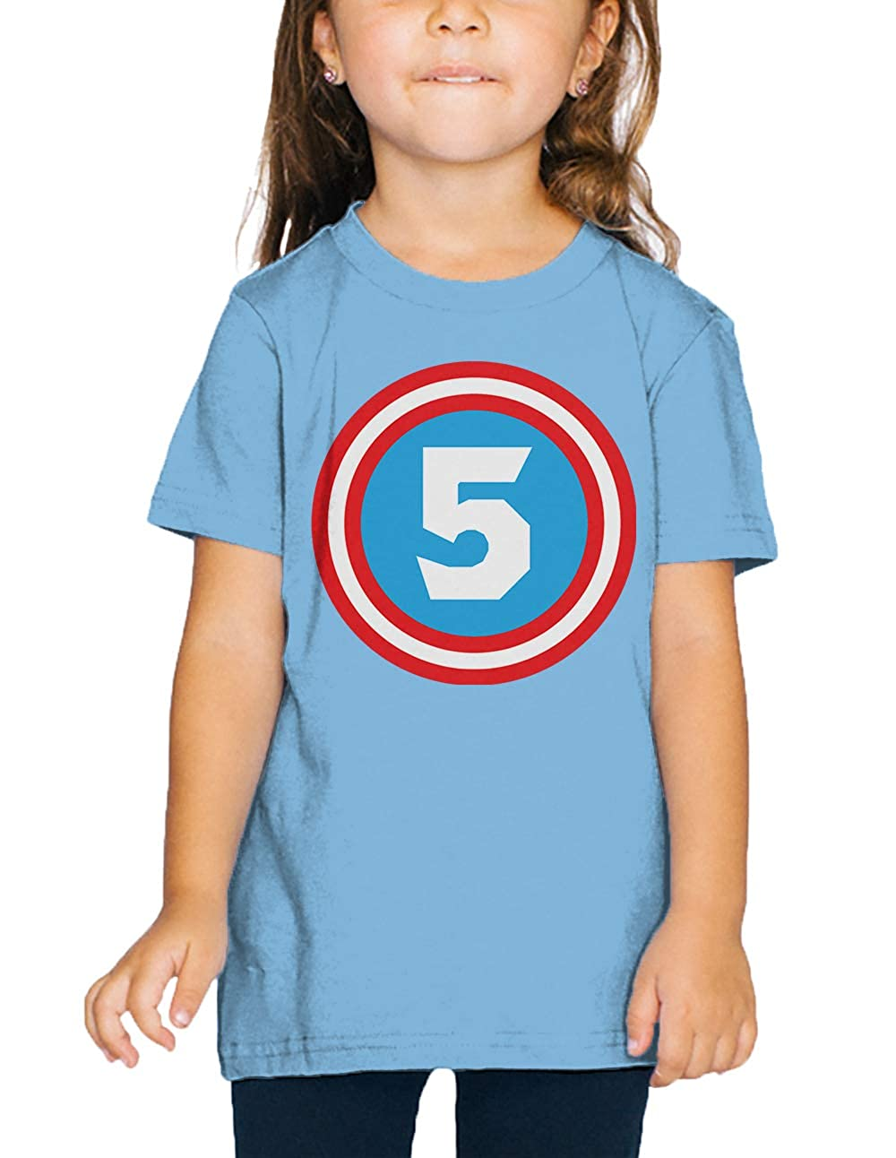 SpiritForged Apparel Superhero Five Year Old Toddler T-Shirt