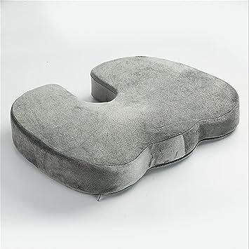 Cushion and cushions LL-Cojines de Espuma de Memoria - diseño de Contorno avanzado diseñado para Reducir el Dolor de Coccix, ciática y cóccix, ...