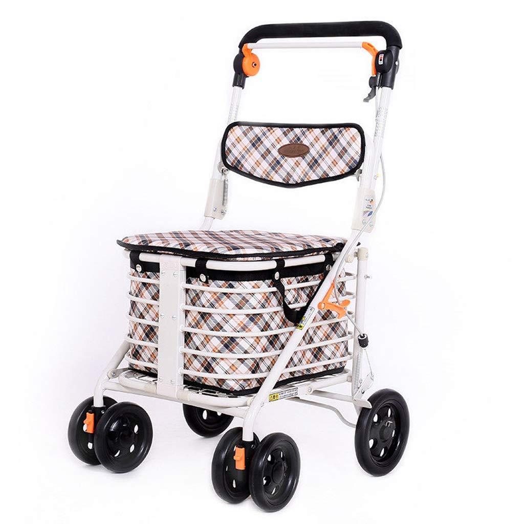 Folding Can Take Shopping Cart Home Shopping Cart Elderly Walking Trolley