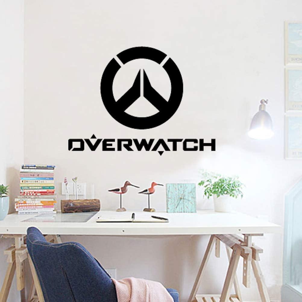 OW OVERWATCH Autocollants Sticker muraux de dessin anim/é 58x43cm