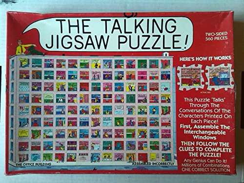 Buffalo Games The Talking Jigsaw Puzzle ~ The Office Building ~ Double Sided 560 Piece Puzzle