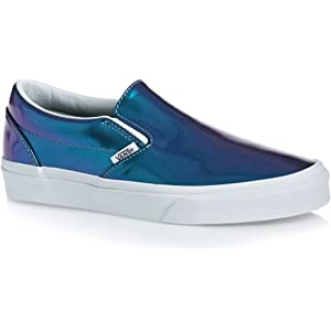 4761a9065c81be Vans Womens Classic Slip-on (Patent Leather)