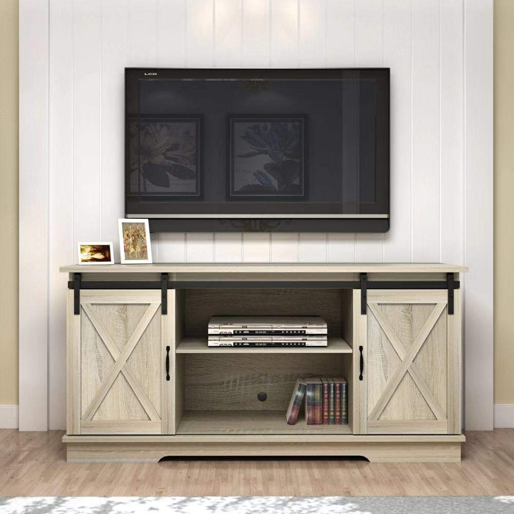 Rainbow Sophia Forest Series Wooden TV Stand for TVs up to 65'' (White Oak) by Rainbow Sophia