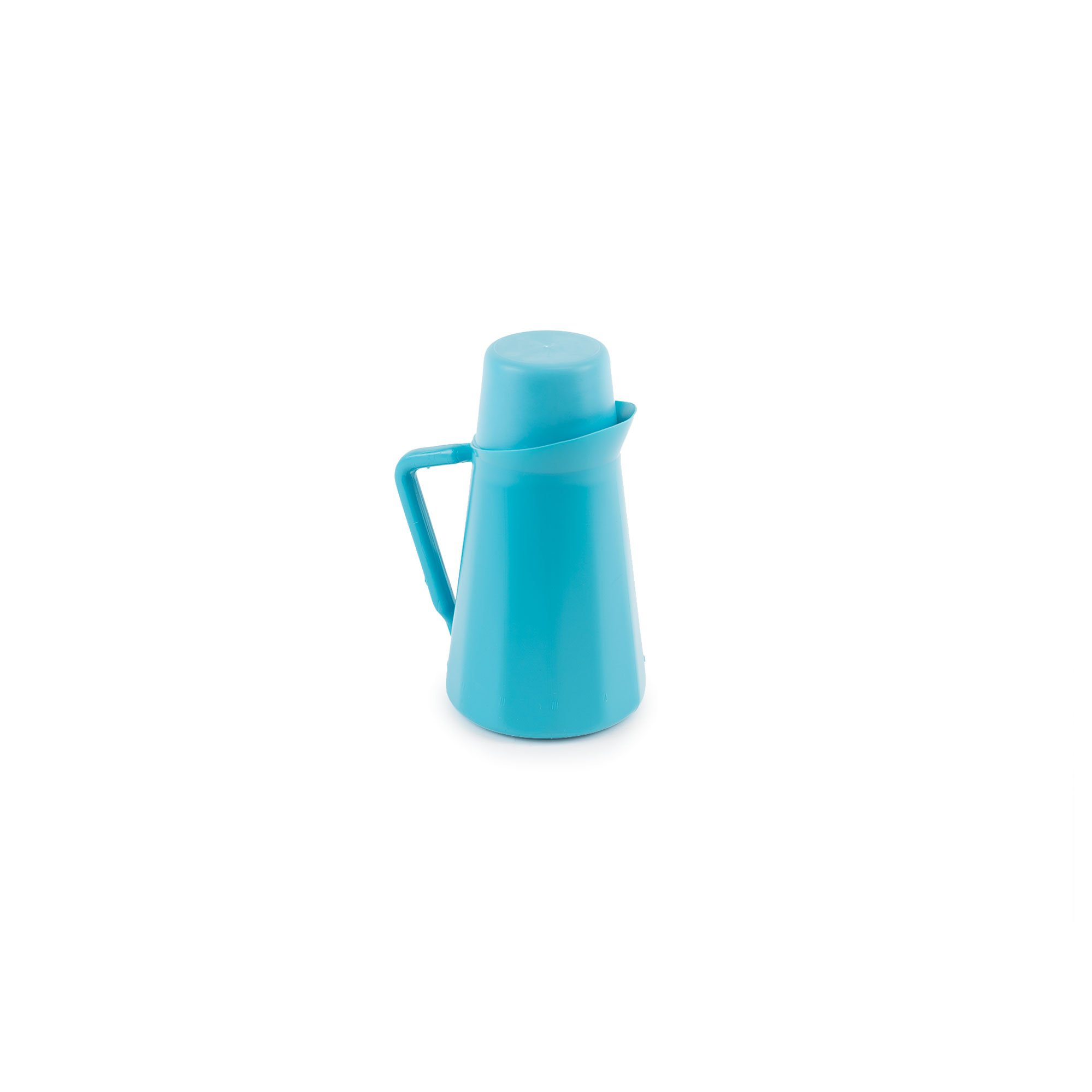 Medegen Medical Products 00110 Pitchers with 9 fl. oz. Cup Covers, Serializable, 1 Quart Capacity, Blue (Pack of 12)