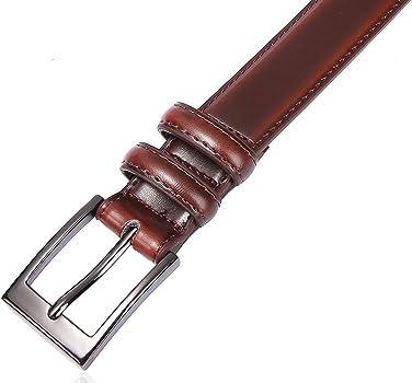 X XHtang - Cinturón de piel para hombre o mujer, 35 mm/30 mm/28 mm ...