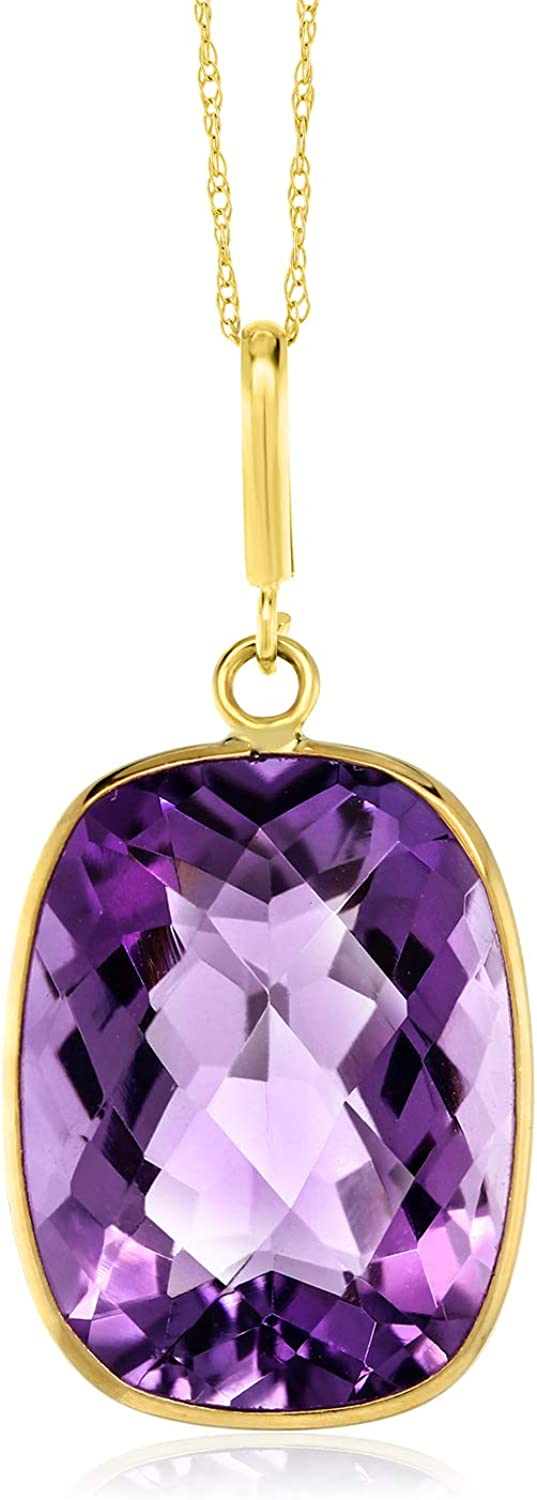 Birthstone necklace gift idea Raw amethyst necklace Amethyst pendant Yellow gold plated necklace Women necklace