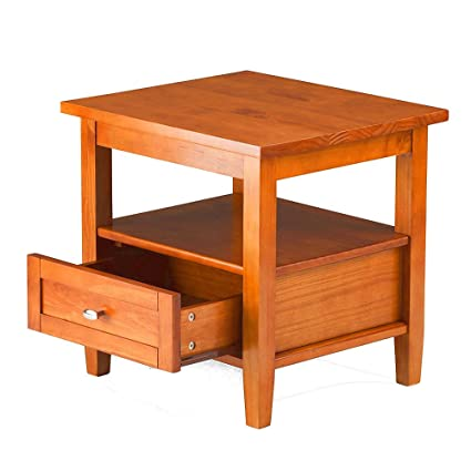 Amazoncom Country Entryway Table With Drawer And Open
